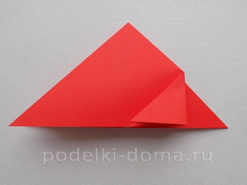 ракета из бумаги оригами 08