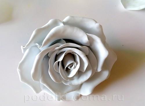 роза из фоамирана 09
