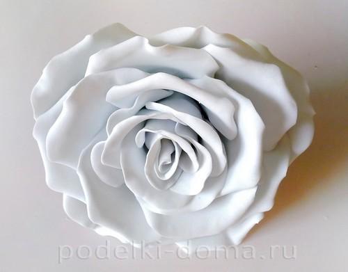 роза из фоамирана 10