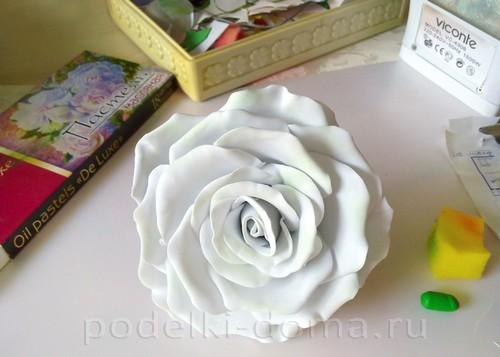 роза из фоамирана 14