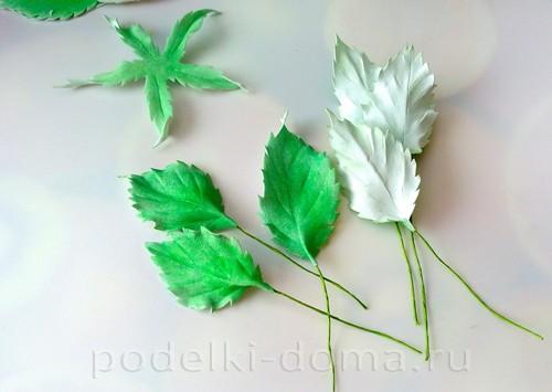 роза из фоамирана 17
