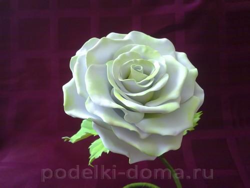 роза из фоамирана06