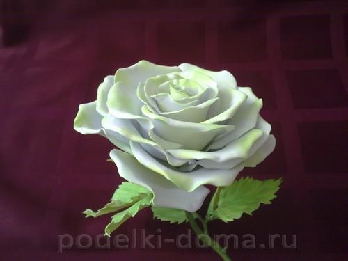 роза из фоамирана07