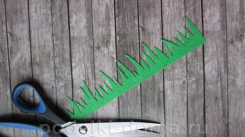 шкатулка из фетра ромашки 17