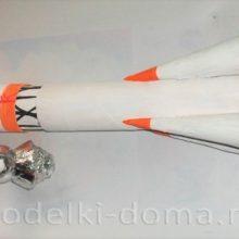 Ракета-носитель «Восток» с кораблем