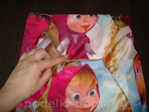 Как сшить рюкзак из зонтика