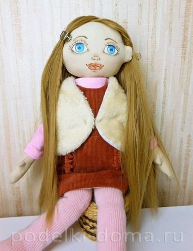 шьем жилет для куклы 20