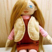 Шьем жилет для куклы