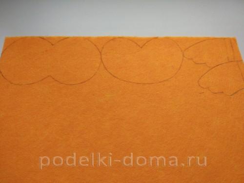 совушка из фетра 03