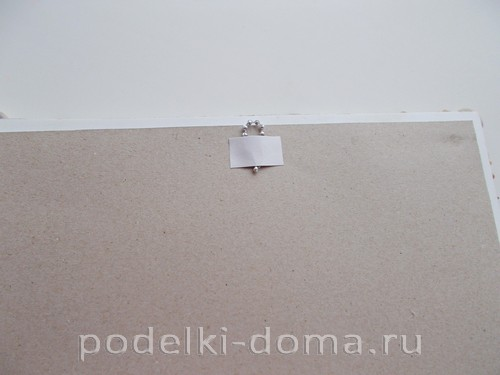 Фоторамка из ракушек