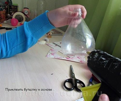 Шкатулка для мелочей из бутылки