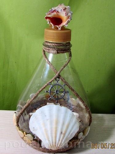 Черепаха из пластиковых бутылок своими руками для сада фото 79