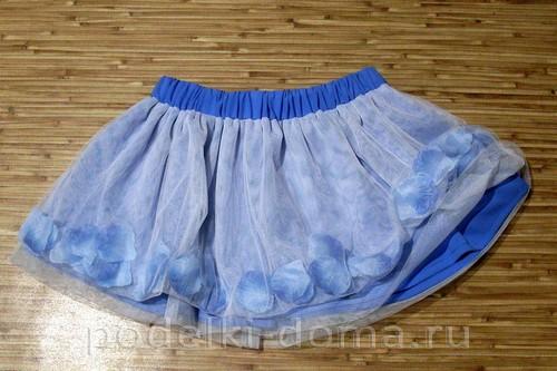 Шьем юбочку для девочки