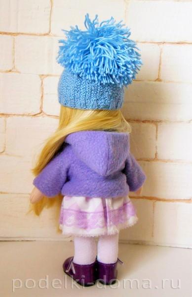 Как сшить курточку для куклы