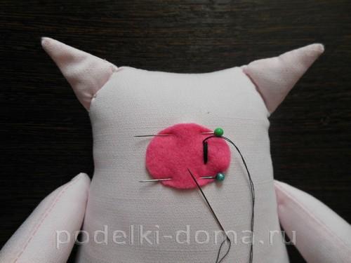 Свинки из ткани, мастер-классы с выкройками