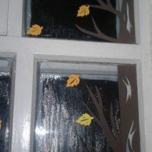 Сменное украшение окна (дерево)