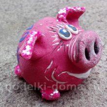 Свинки из соленого теста