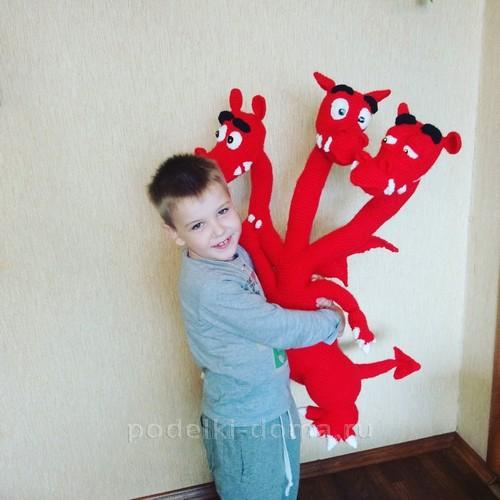 Змей Горыныч и Илья Муромец