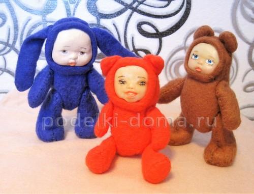 Куколки-зверушки
