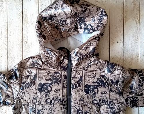 Как сшить детскую куртку на синтепоне