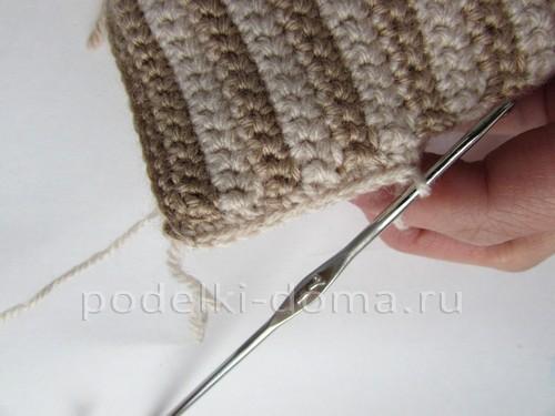 Домики, вязаные крючком