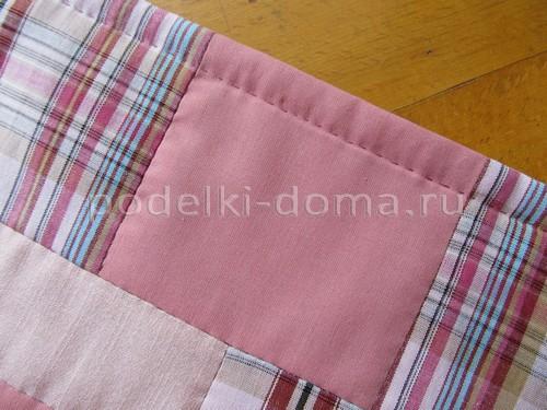Одеялко в технике пэчворк