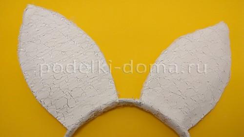 Ободок с ушками и заколки-ушки