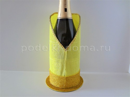 Красивые подставки для бутылки