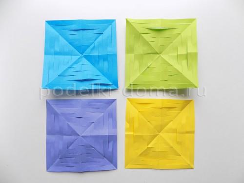 Гирлянды из бумаги