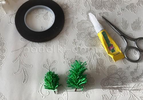 Новогодние зажимы для волос
