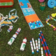 Летние оздоровительные дорожки для детей
