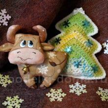 Ароматная игрушка «Бычок – символ года»