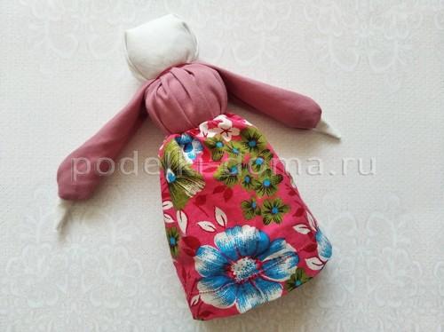Народные тряпичные куколки: на замужество, Мамушка и Успешница