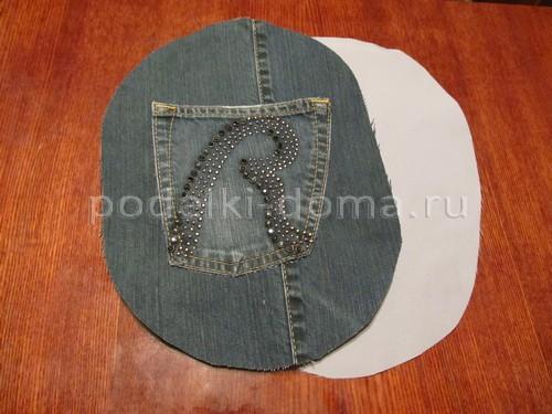Шьем сумочку из джинсов