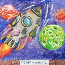 Рисунки на тему «Космос»