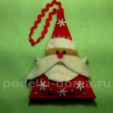 Мастер-класс «Дед-Мороз» для учащихся детских объединений