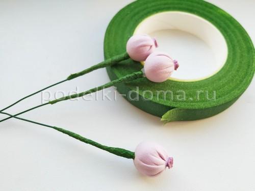 Ягодки из фоамирана