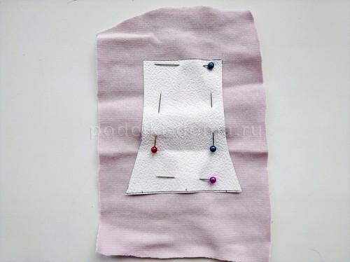 Как сшить комплект (трусики и сорочка)