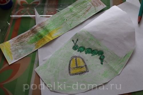 """""""Сказка на полянке"""" - поделка из подручных материалов"""