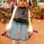 Новогодний костюм цирковой собачки