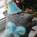 Мягкая игрушка «Счастливый кот»