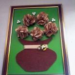 Объёмная картина «Горшочек с цветами»