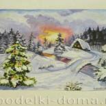 3D-картина «Зима»