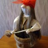 Кукла Баба-Яга (тряпичная)