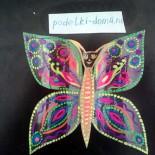 «Бабочка» из пластиковой бутылки