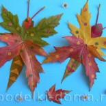 Аппликация «Осенние бабочки»