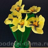 Цветы из бумаги: анютины глазки, гиацинт, лютик