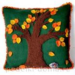 «Осенний чехол на подушку»