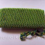 Чехол для телефона (вязание с бисером)