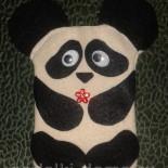 Чехол для телефона из фетра «Панда»